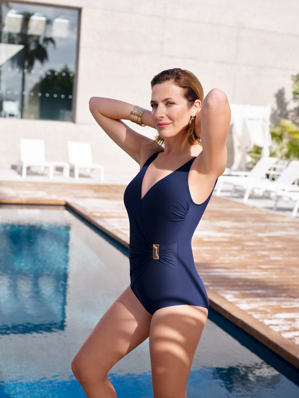 bac1362abbd Felina One-piece swimsuit with inner support 5206202 CLASSIC SHAPE